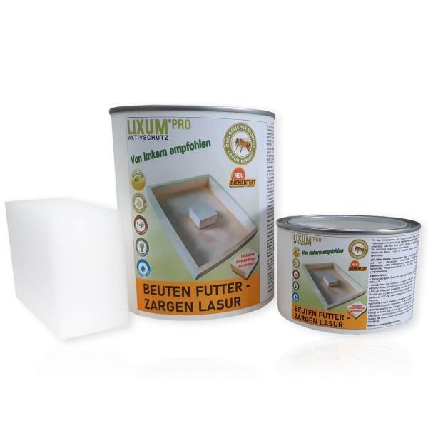 LIXUM PRO-Beuten Futterzargen Lasur für fünf Futterzargen