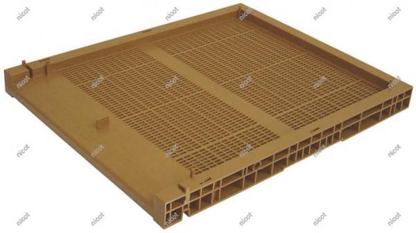 Nicot Boden mit Gitter, Schublade und Fluglochschieber -Nicot
