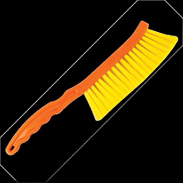 Abkehrbesen Bee Tools,Kurz,Griff aus Kuntsoff,Naylonhar-BT3034P-Apisfarm