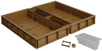 NICOT®Orginal Futterzarge | Kunststoff | Braun | NICOT®-Apisfarm