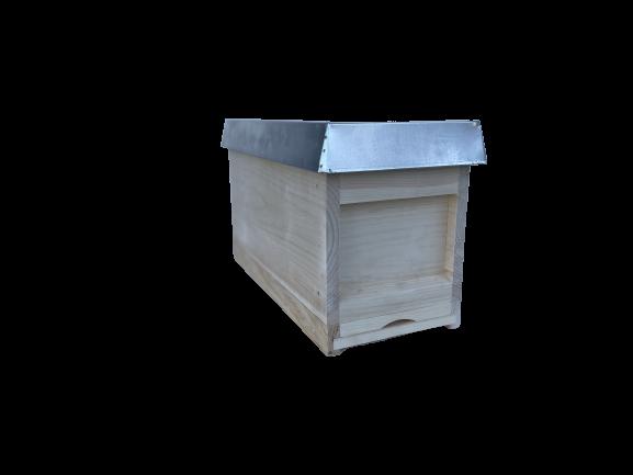 Zander Ablegerkasten mit 5 Rähmchen, Fütterzarge und Deckel-Apisfarm