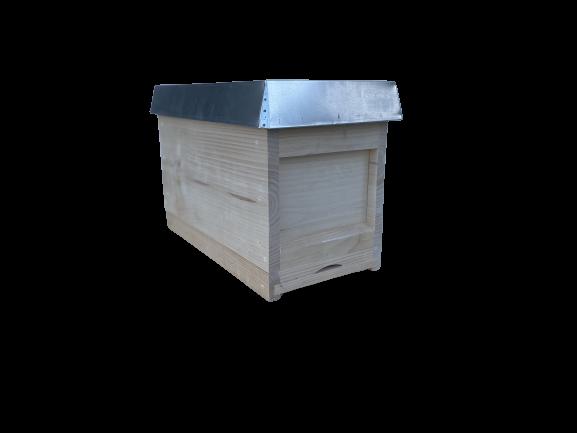 DN-Ablegerkasten, mit Rähmchen, Fütterzarge und Deckel-Apisfarm