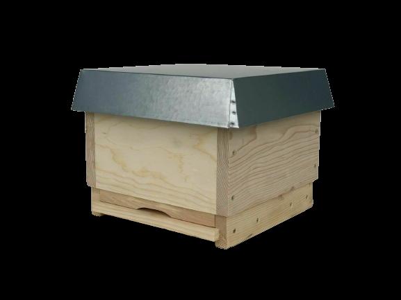 MiniPlus Beute aus Holz komplett inkl. Futtertasche und Rähmchen-Apisfarm