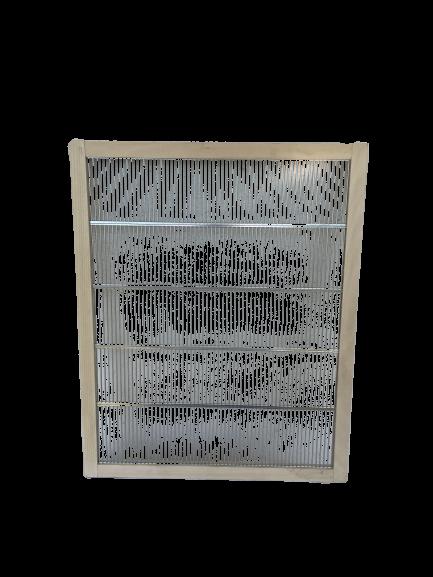 Absperrgitter in Holzrahmen für Langstroth Beute - 505 x412 mm Apisfarm