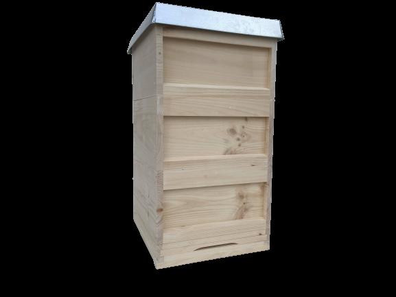 DN Beute Dr.Liebig,Bienenbeute mit 30Rähmchen gedrahtet,Weymouthskiefer,APISFARM